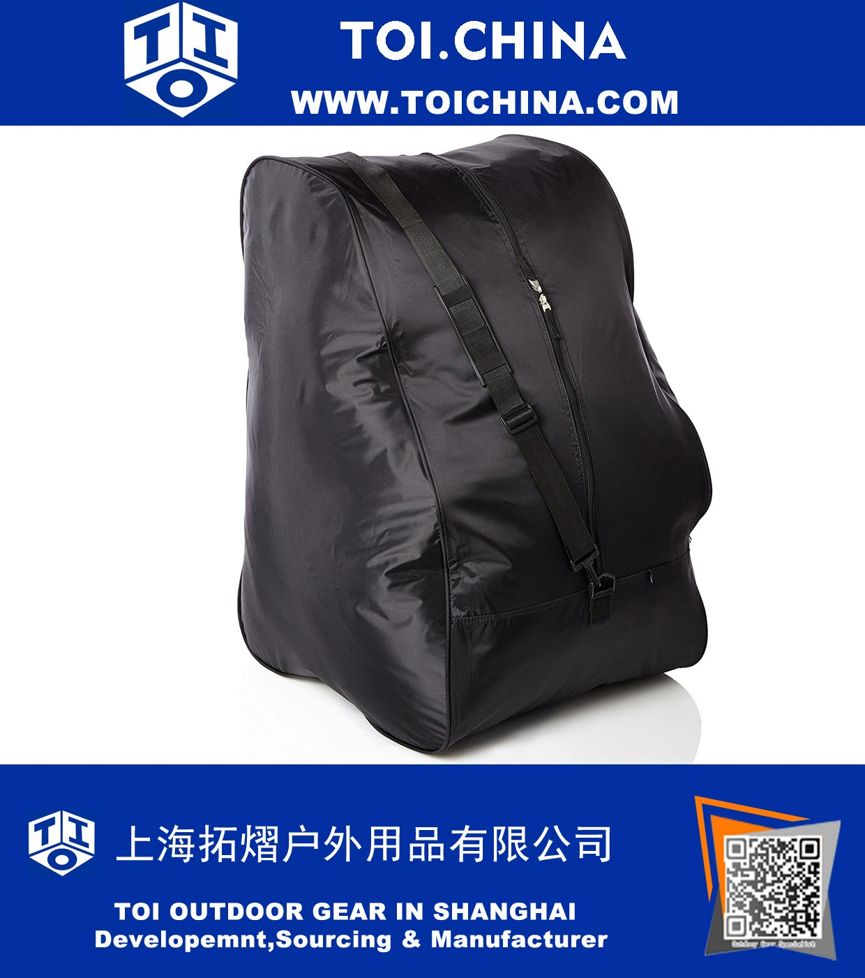 Car Seat Travel Bag, Nylon, Universal Size, Fits All Car Seats, Shoulder Strap Included, TY-QC008