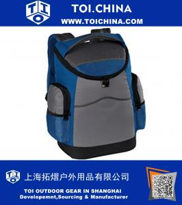 12 inch Tailgating 20 can lunch bag cooler backpack weatherproof, waterproof, leakproof for beach, camping and picnics