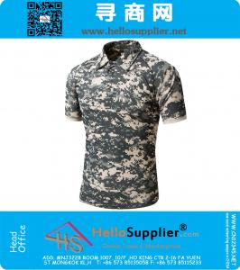 Army Camouflage Tactical Combat Military Camo Short T Shirt