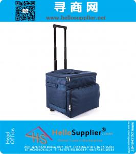 Collapsible Rolling Wheeled Insulated Cooler