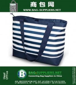 Cooler Bag, Insulated Soft Tote Bag, Perfect Size For The Beach, Picnic, Outdoor, Sports, Hiking and Camping