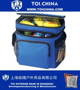Deluxe Poly Outdoor Sport Cooler with Lunch Bag