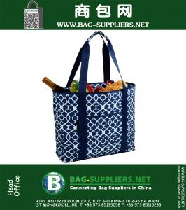 Picnic Extra Large Insulated Cooler Bag - 30 Can Tote