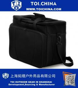 Soft Portable Cooler Bag with Large Insulated Waterproof Interior and Pull-out Beverage Tray